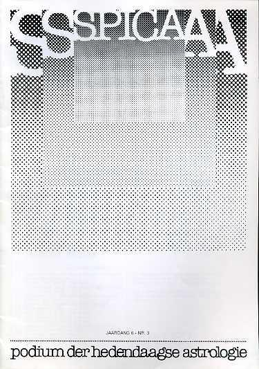- Spica, podium der hedendaagse astrologie. Jaargang 6, nr. 3.  Oct 1982
