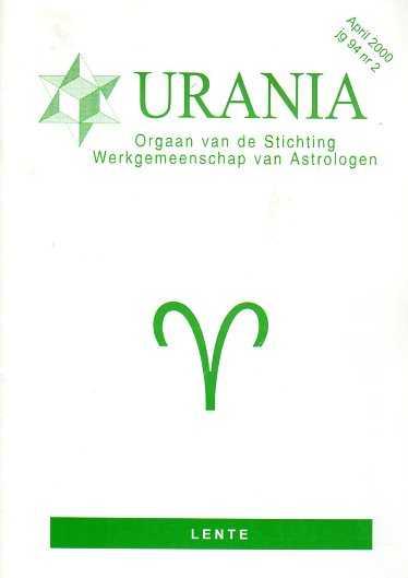 - Urania jaargang 94, nr. 2, April 2000 Lente