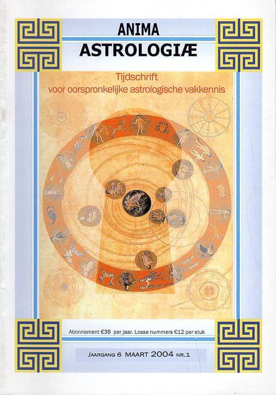 - Anima Astrologiae. Tijdschrift voor oorspronkelijke astrologische vakkennis. Jaargang 6, maart 2004, nr. 1