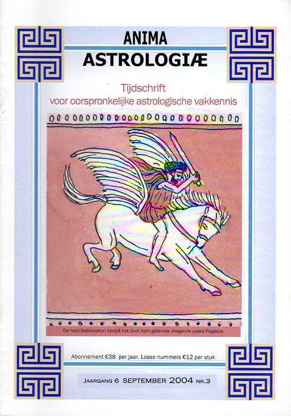 - Anima Astrologiae. Tijdschrift voor oorspronkelijke astrologische vakkennis. Jaargang 6, september 2004, nr. 3